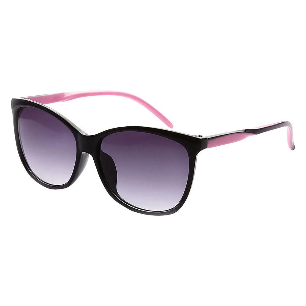SW Global Addison Full Frame Retro Square UV400 Sunglasses Pink - SW Global Eyewear - Fashion Accessories, Eyewear