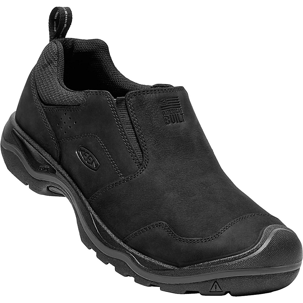 KEEN Mens Rialto Slip On 7.5 - Black - KEEN Mens Footwear - Apparel & Footwear, Men's Footwear