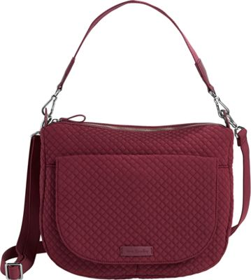 Vera Bradley Carson Shoulder Bag-Solids Hawthorn Rose - Vera Bradley Fabric Handbags