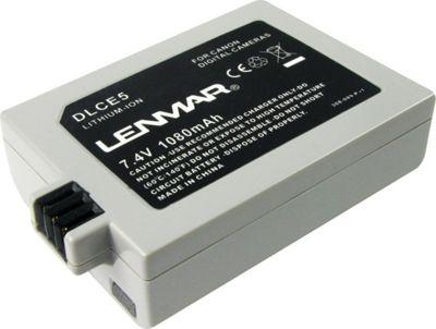 Lenmar Replacement Battery For Canon LP-E5 White - Lenmar Portable Batteries & Chargers