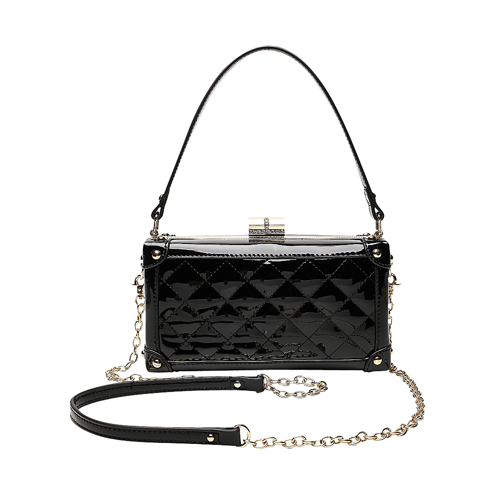 MKF Collection by Mia K. Farrow Lucinda Evening Crossbody Black - MKF Collection by Mia K. Farrow Manmade Handbags - Handbags, Manmade Handbags