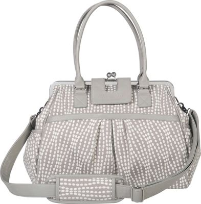 Trend Lab Waverly Framed Diaper Bag Gray, Cream, Taupe - Trend Lab Diaper Bags & Accessories