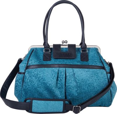 Trend Lab Waverly Framed Diaper Bag Teal, Black, Taupe - Trend Lab Diaper Bags & Accessories