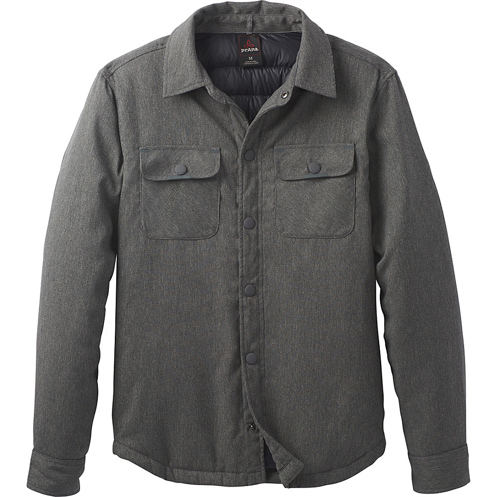 PrAna Showdown Jacket L - Charcoal - PrAna Mens Apparel - Apparel & Footwear, Men's Apparel