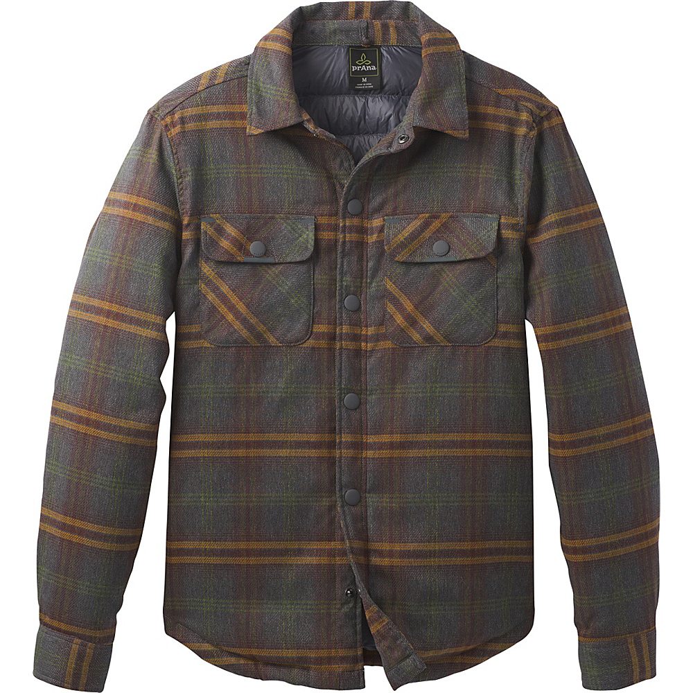 PrAna Showdown Jacket L - Coal - PrAna Mens Apparel - Apparel & Footwear, Men's Apparel