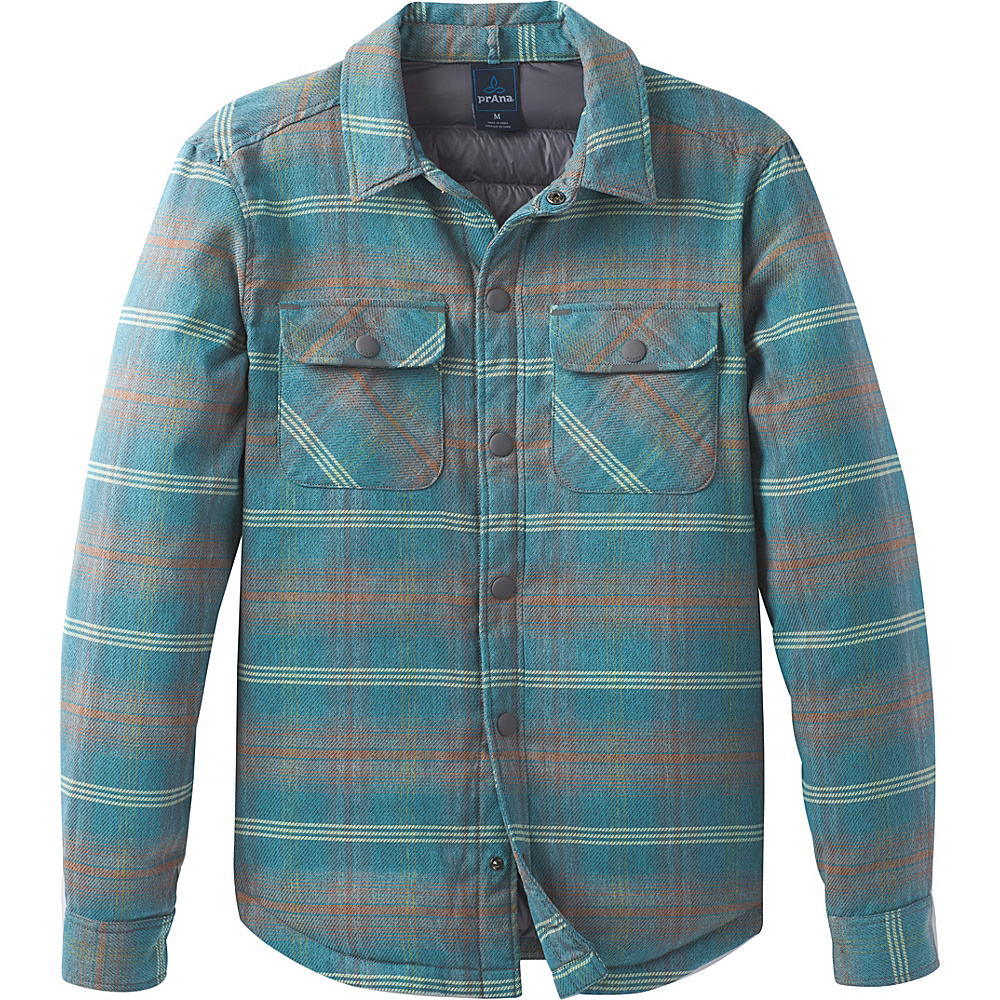 PrAna Showdown Jacket L - River Rock Blue - PrAna Mens Apparel - Apparel & Footwear, Men's Apparel