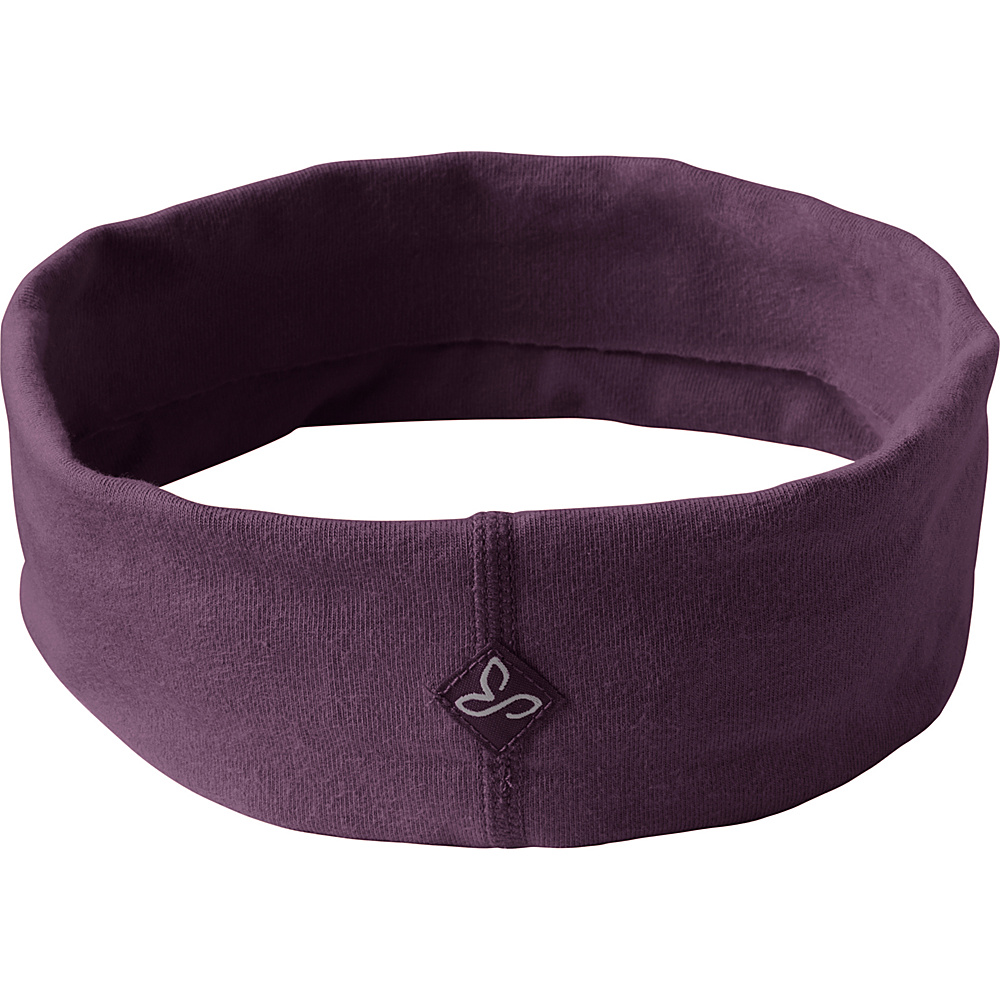 PrAna Womens Organic Headband One Size - Dark Plum - PrAna Hats - Fashion Accessories, Hats