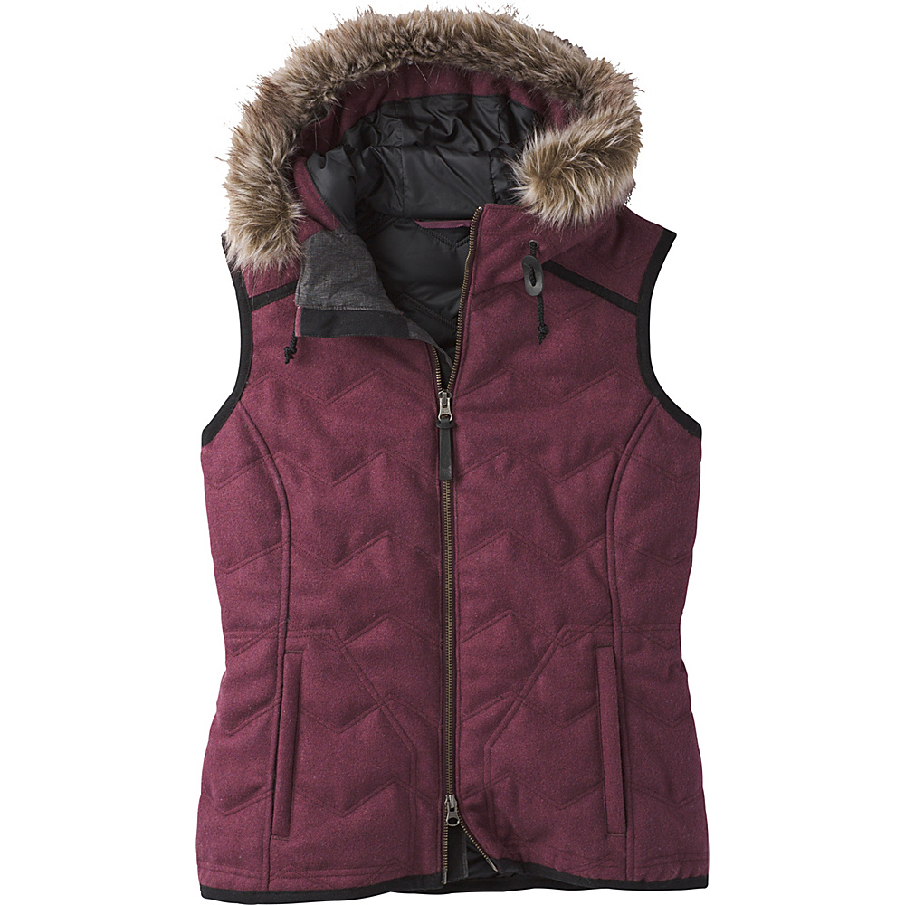 PrAna Calla Vest M - Perfect Plum - PrAna Womens Apparel - Apparel & Footwear, Women's Apparel