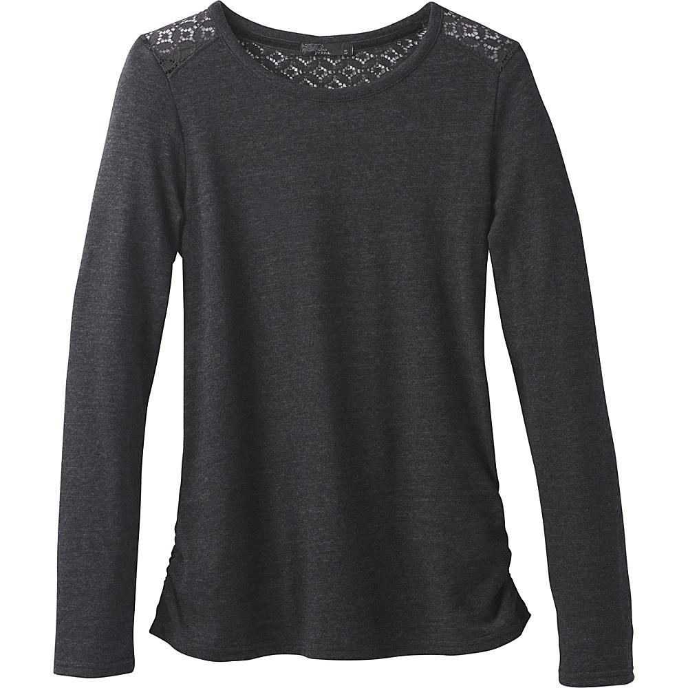 PrAna Isadora Ballet Neck Shirt XS - Black - PrAna Mens Apparel - Apparel & Footwear, Men's Apparel