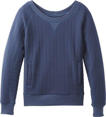 PrAna Silverspring Pullover M - Dusk Blue - PrAna Women's Apparel