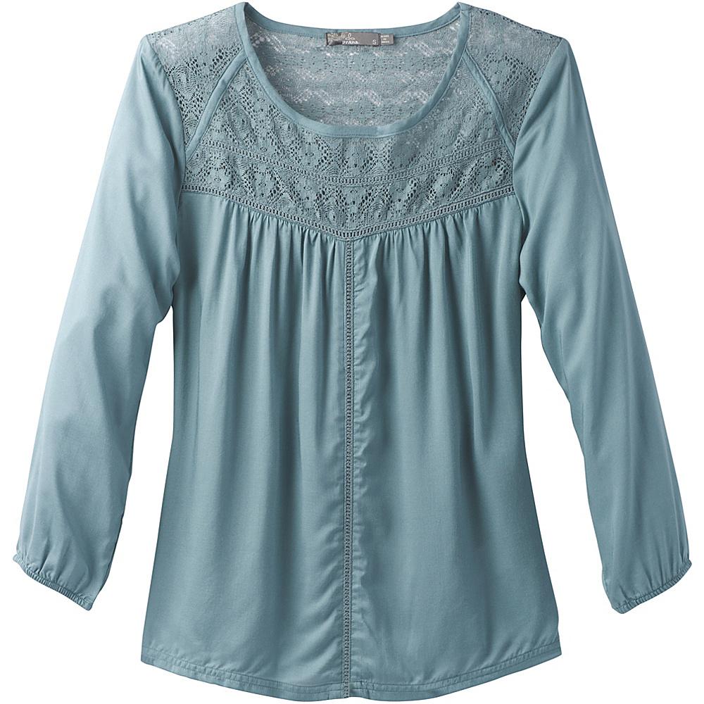 PrAna Robyn Top XL - Bayou Blue - PrAna Womens Apparel - Apparel & Footwear, Women's Apparel