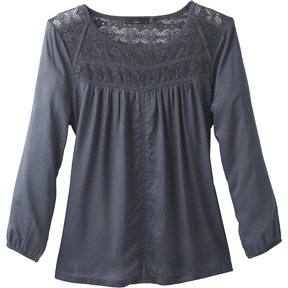 PrAna Robyn Top XL - Coal - PrAna Womens Apparel - Apparel & Footwear, Women's Apparel