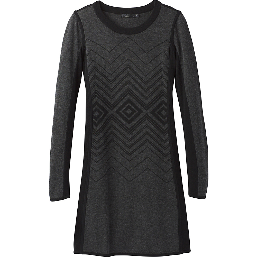 PrAna Delia Dress S - Charcoal - PrAna Womens Apparel - Apparel & Footwear, Women's Apparel