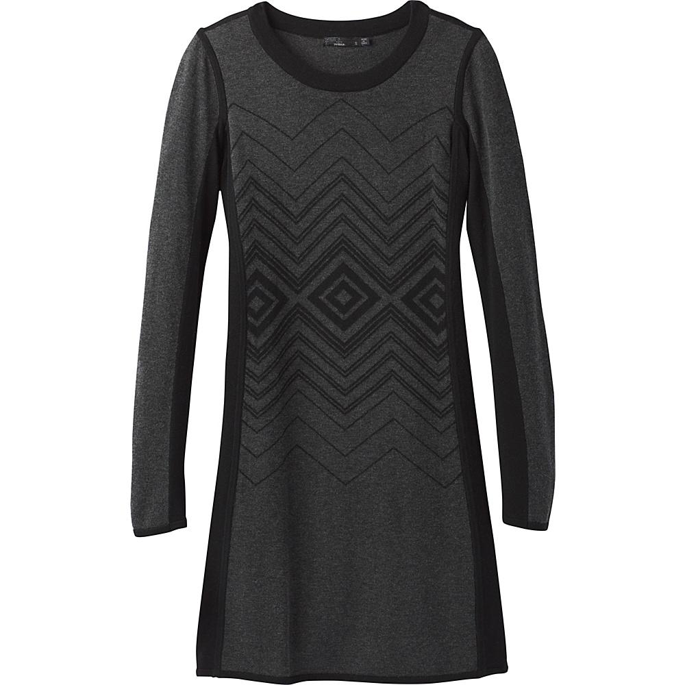 PrAna Delia Dress M - Charcoal - PrAna Womens Apparel - Apparel & Footwear, Women's Apparel
