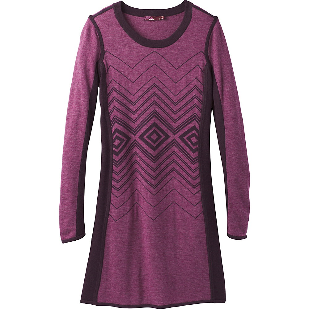 PrAna Delia Dress L - Sangria - PrAna Womens Apparel - Apparel & Footwear, Women's Apparel