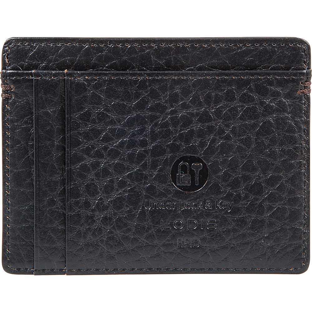Lodis Borrego RFID Daniel Card Case Black - Lodis Womens Wallets - Women's SLG, Women's Wallets