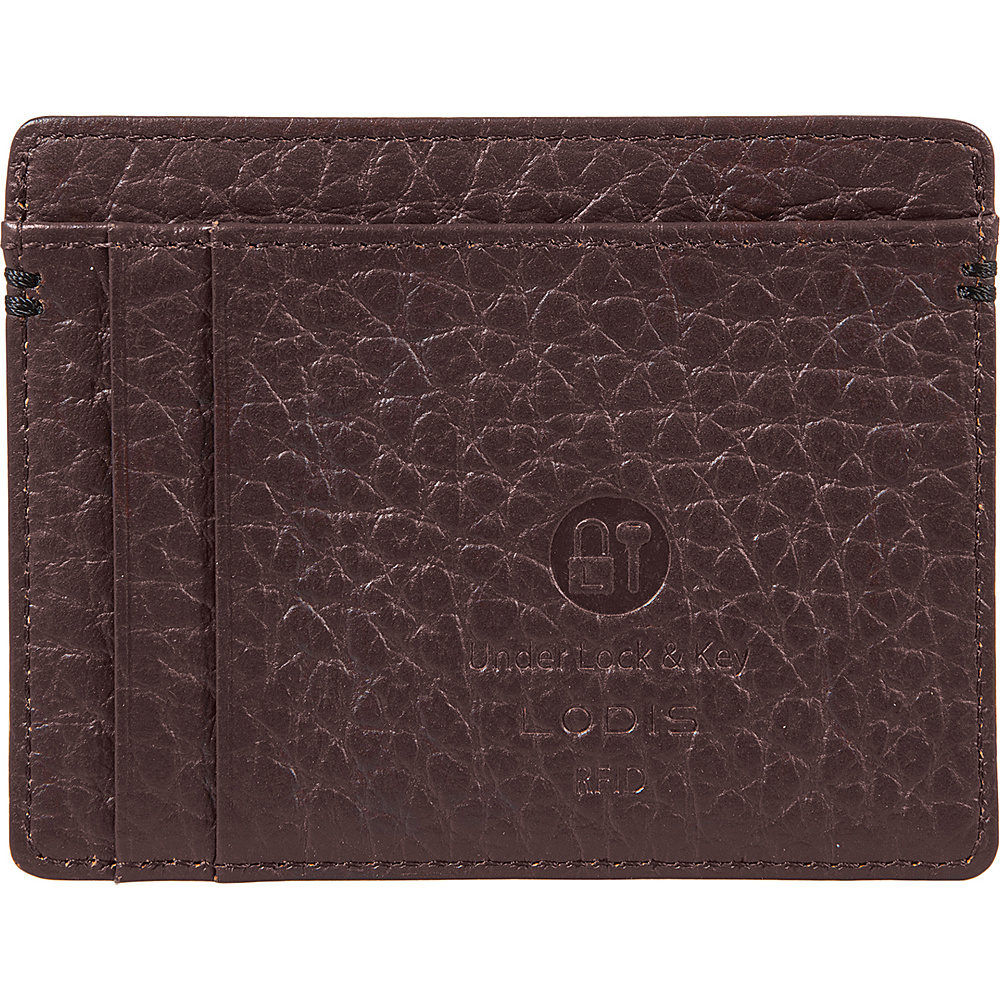 Lodis Borrego RFID Daniel Card Case Dark Brown - Lodis Womens Wallets - Women's SLG, Women's Wallets