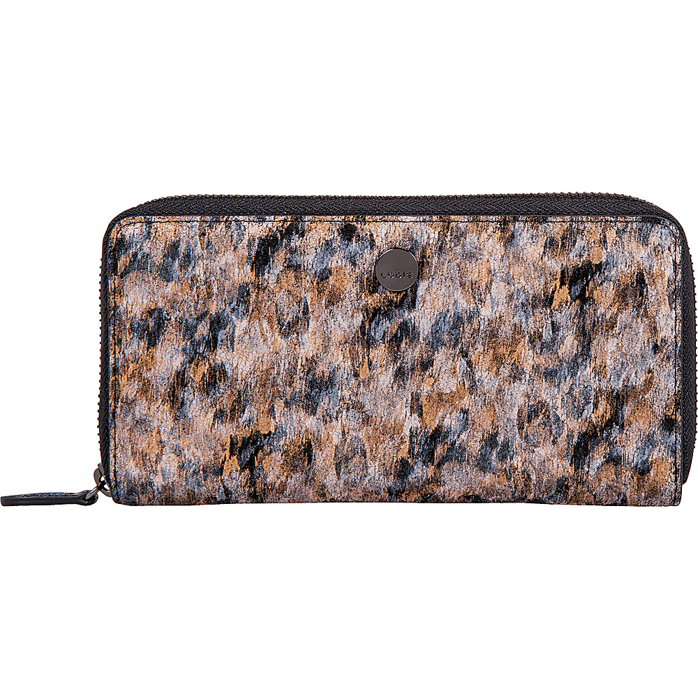 Lodis Roar RFID Ada Zip Wallet Toffee - Lodis Womens Wallets - Women's SLG, Women's Wallets