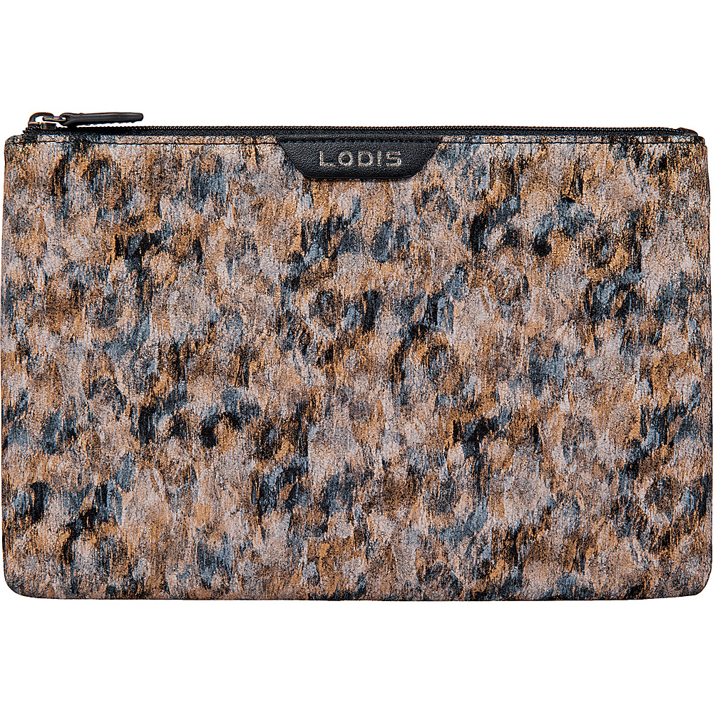 Lodis Roar RFID Flat Pouch Toffee - Lodis Womens Wallets - Women's SLG, Women's Wallets