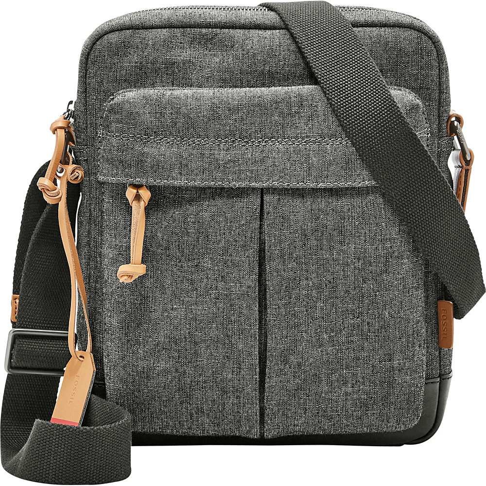 Fossil Defender NS City Bag Grey - Fossil Messenger Bags - Work Bags & Briefcases, Messenger Bags