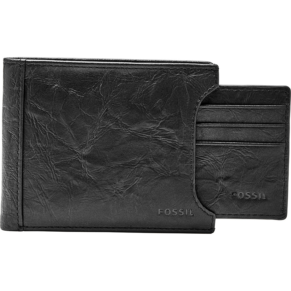 Fossil Neel Sliding 2 in 1 Black - Fossil Mens Wallets - Work Bags & Briefcases, Men's Wallets