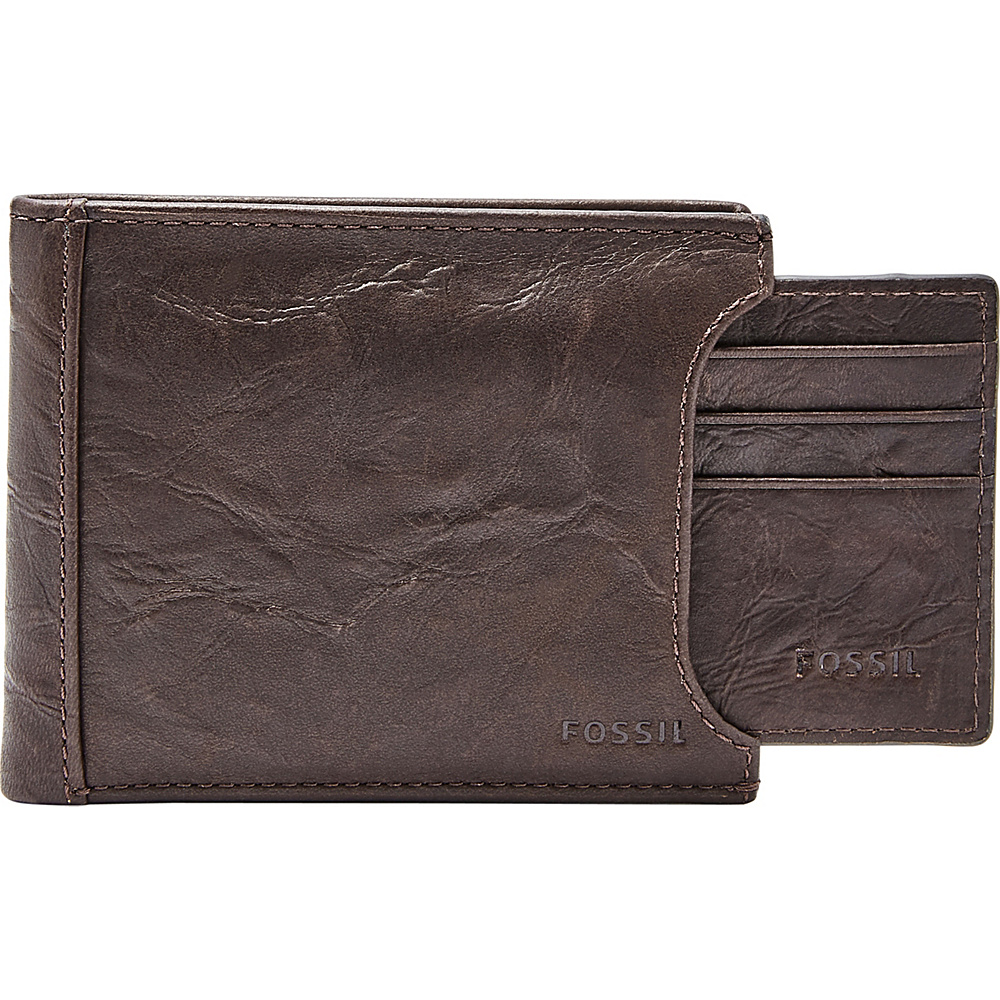 Fossil Neel Sliding 2 in 1 Brown - Fossil Mens Wallets - Work Bags & Briefcases, Men's Wallets
