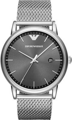 Emporio Armani Dress Watch Silver - Emporio Armani Watches