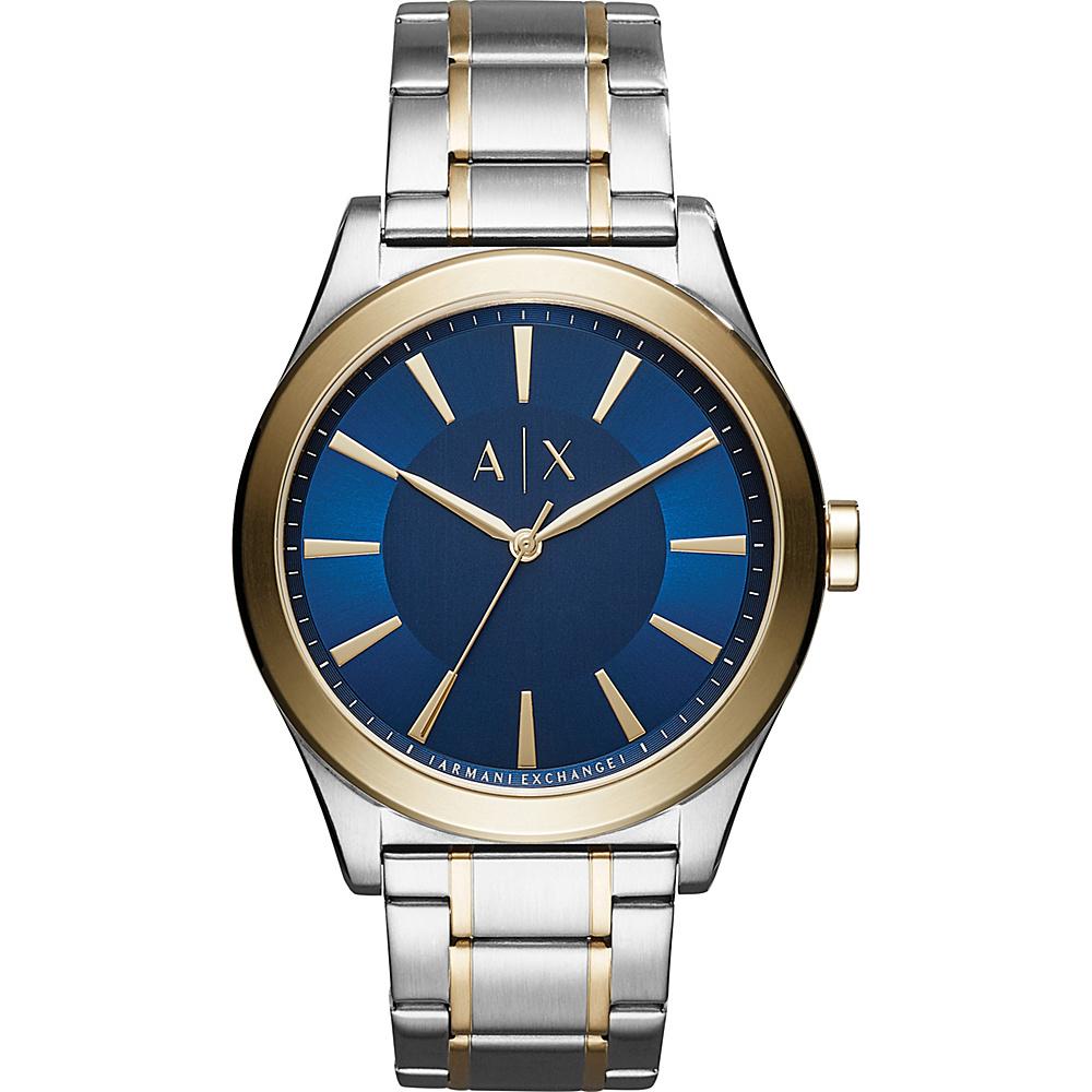 A/X Armani Exchange Dress Watch Two-tone - A/X Armani Exchange Watches
