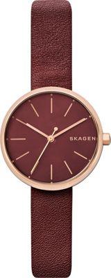 Skagen Signatur Watch Red - Skagen Watches