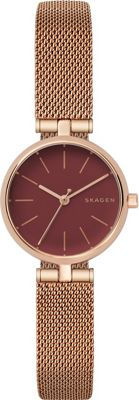 Skagen Signatur T-Bar Watch Rose Gold - Skagen Watches