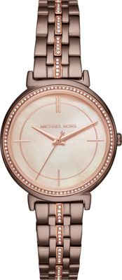 Michael Kors Watches Cinthia Three-Hand Watch Brown - Michael Kors Watches Watches