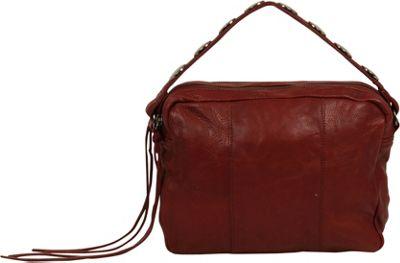 Day & Mood Aura Crossbody Rusty Red - Day & Mood Leather Handbags