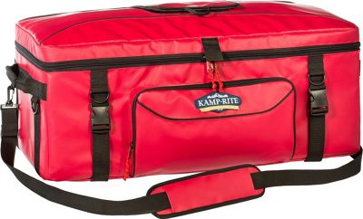 Kamp Rite 72 SQ Kooler Red - Kamp Rite Travel Coolers