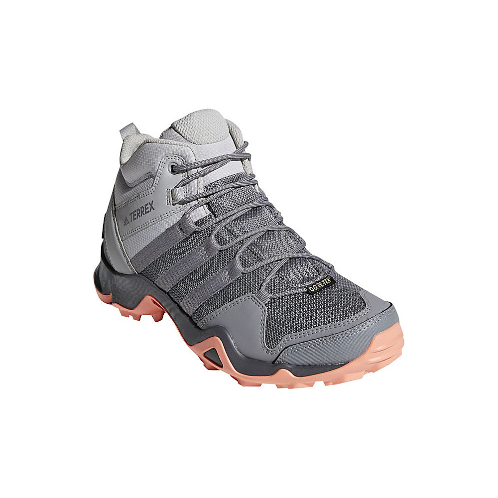 adidas outdoor Womens Terrex AX2R Mid GTX Shoe 5 - Grey Two/Grey Three/Chalk Coral - adidas outdoor Womens Footwear - Apparel & Footwear, Women's Footwear