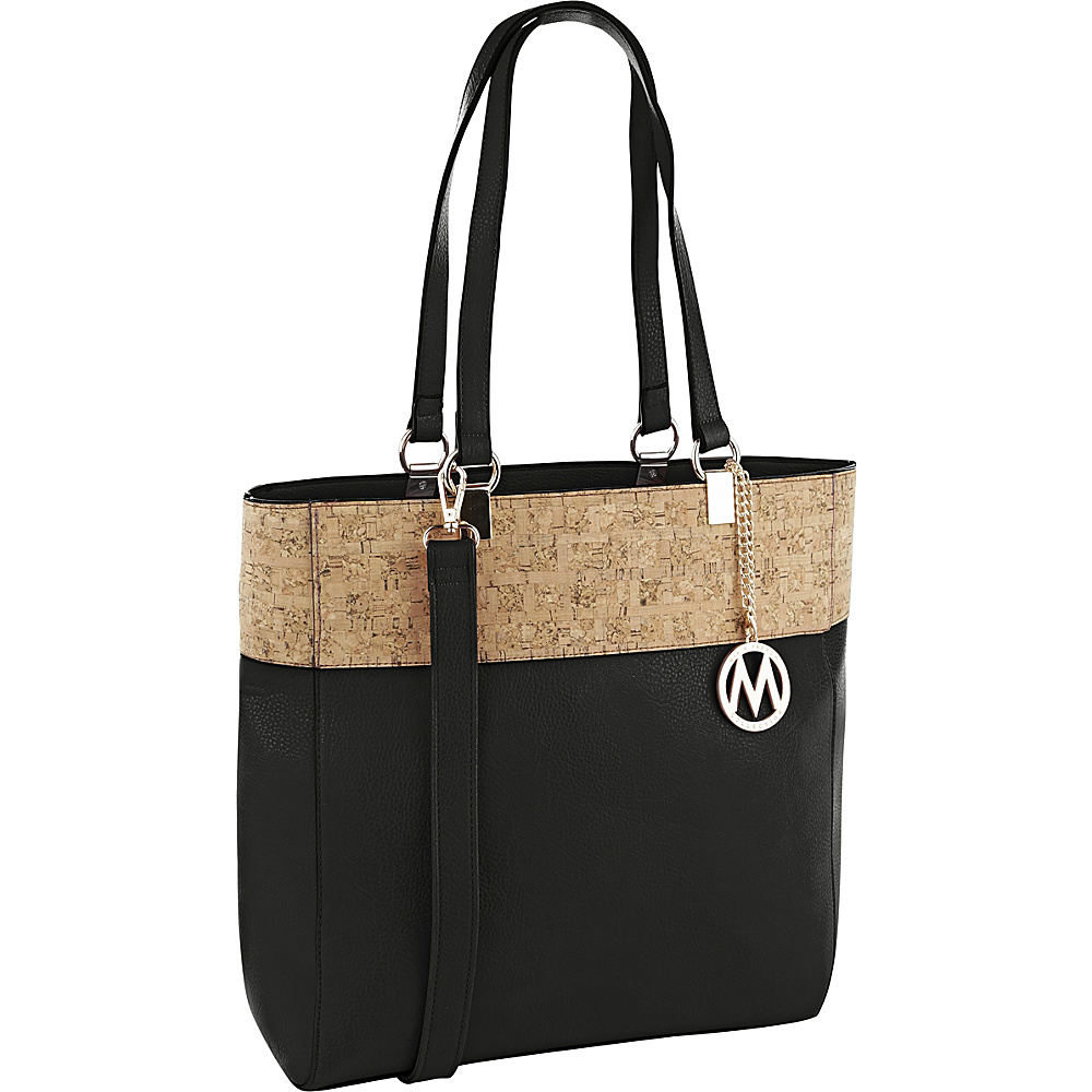 MKF Collection by Mia K. Farrow Yana Commodious Tote/Crossbody Black - MKF Collection by Mia K. Farrow Manmade Handbags - Handbags, Manmade Handbags