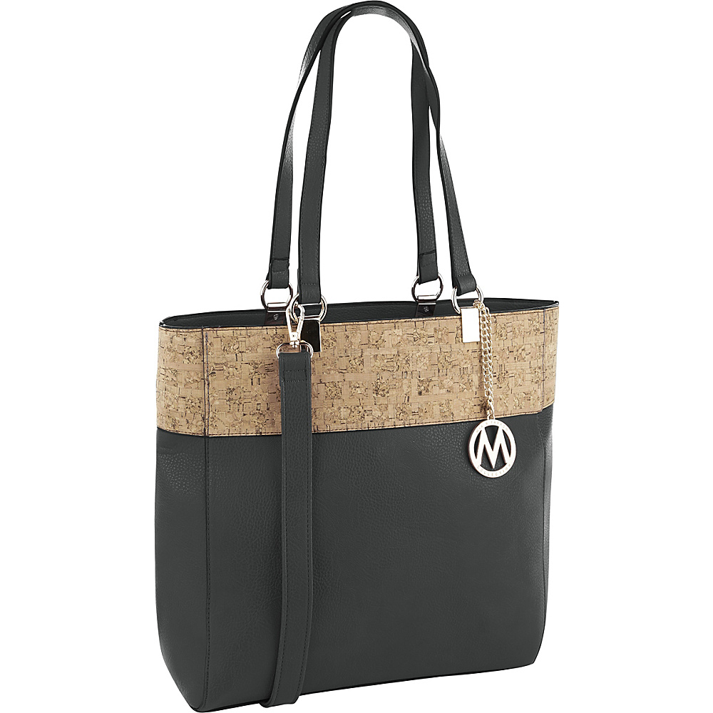 MKF Collection by Mia K. Farrow Yana Commodious Tote/Crossbody Grey - MKF Collection by Mia K. Farrow Manmade Handbags - Handbags, Manmade Handbags