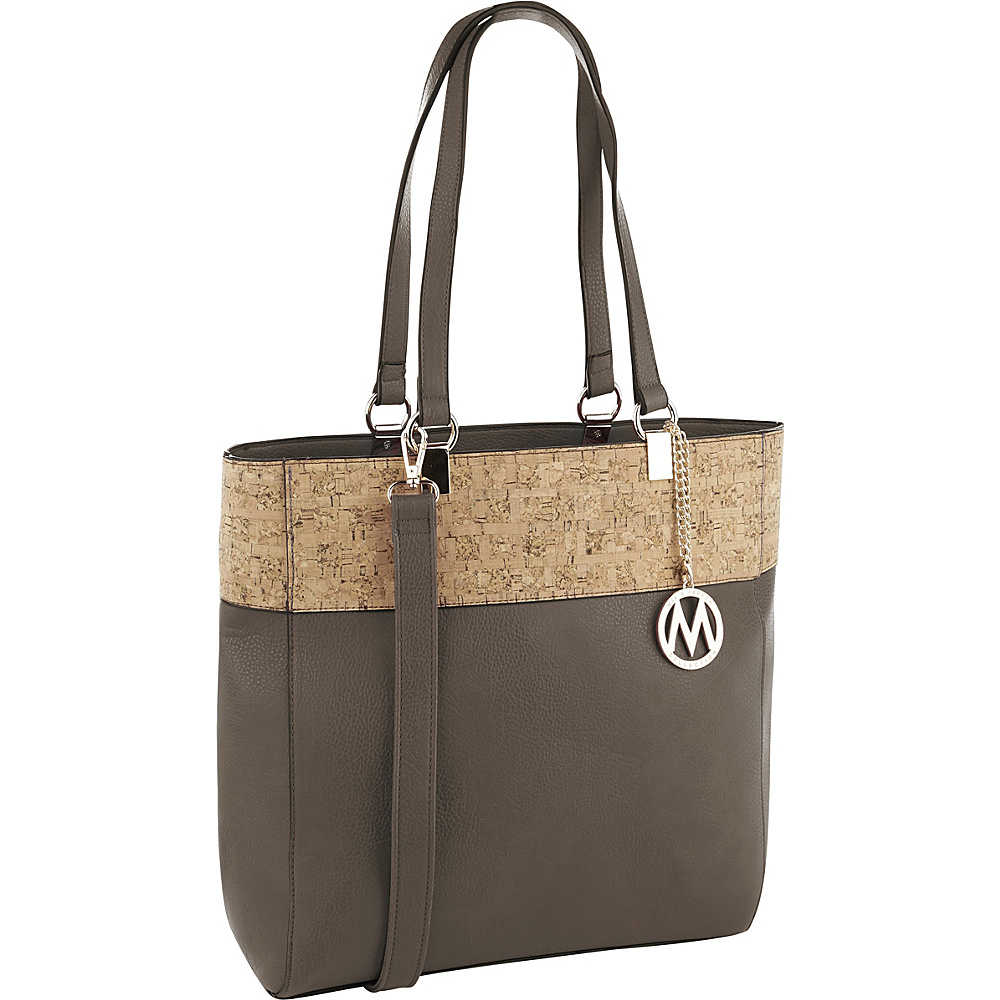 MKF Collection by Mia K. Farrow Yana Commodious Tote/Crossbody Bronze - MKF Collection by Mia K. Farrow Manmade Handbags - Handbags, Manmade Handbags