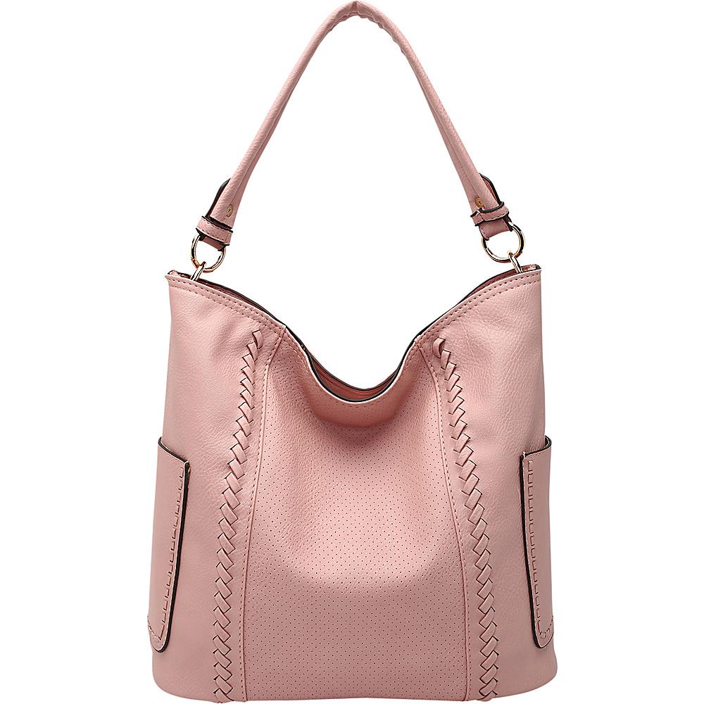 MKF Collection by Mia K. Farrow Trixie Hobo Light Pink - MKF Collection by Mia K. Farrow Manmade Handbags - Handbags, Manmade Handbags