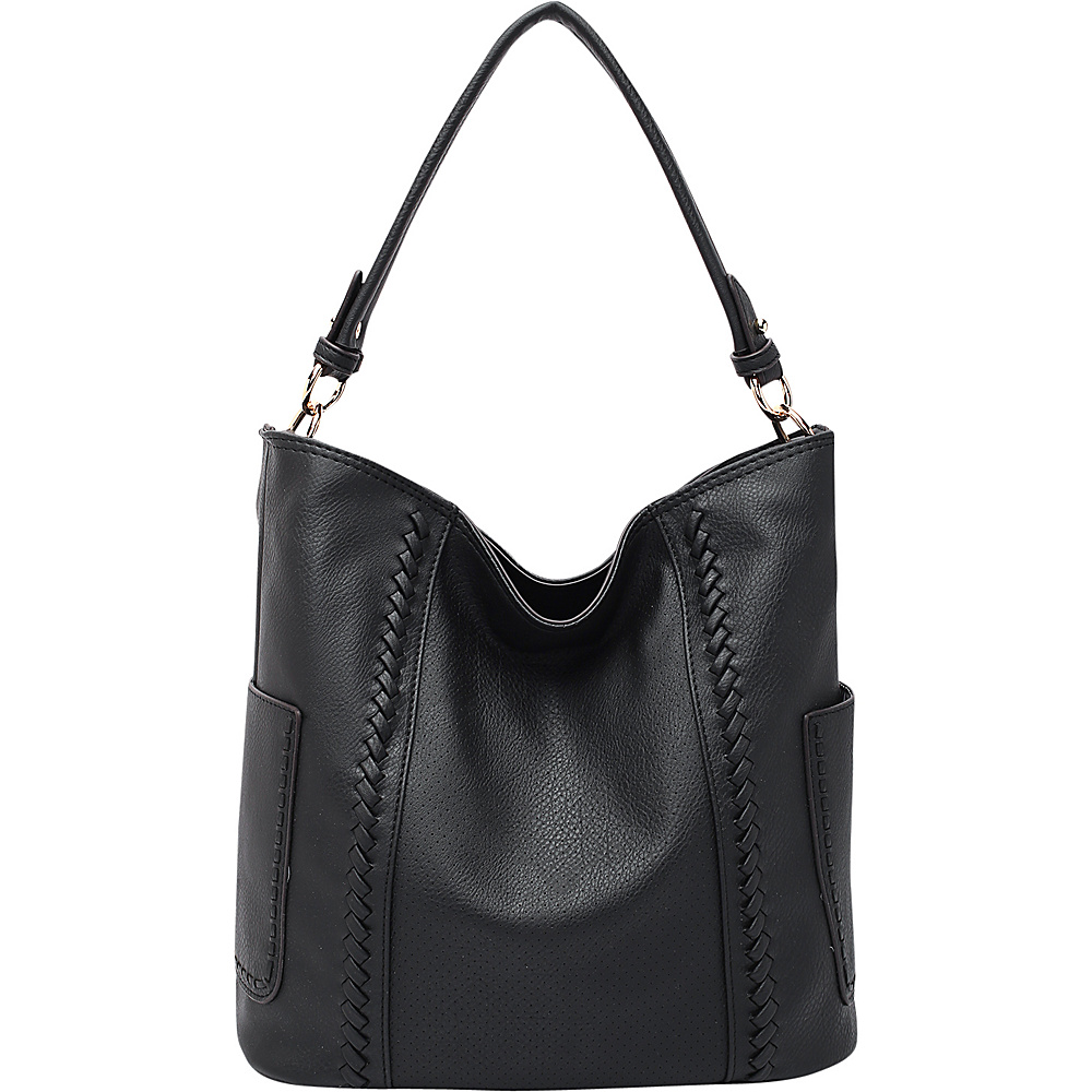 MKF Collection by Mia K. Farrow Trixie Hobo Black - MKF Collection by Mia K. Farrow Manmade Handbags - Handbags, Manmade Handbags