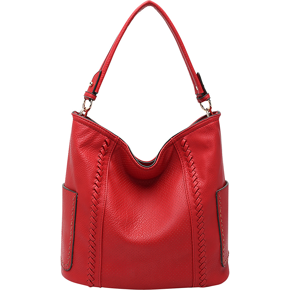 MKF Collection by Mia K. Farrow Trixie Hobo Red - MKF Collection by Mia K. Farrow Manmade Handbags - Handbags, Manmade Handbags