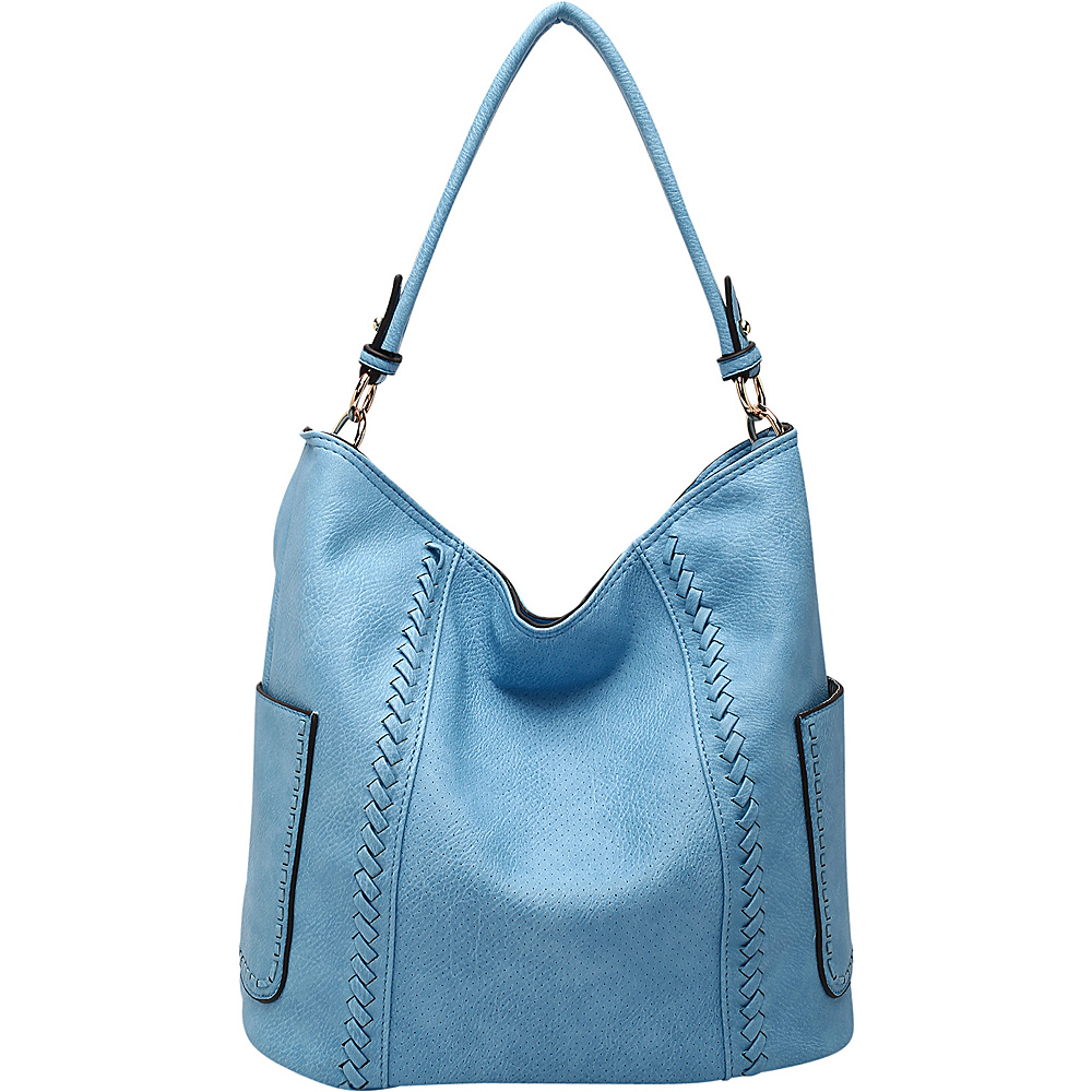 MKF Collection by Mia K. Farrow Trixie Hobo Denim - MKF Collection by Mia K. Farrow Manmade Handbags - Handbags, Manmade Handbags
