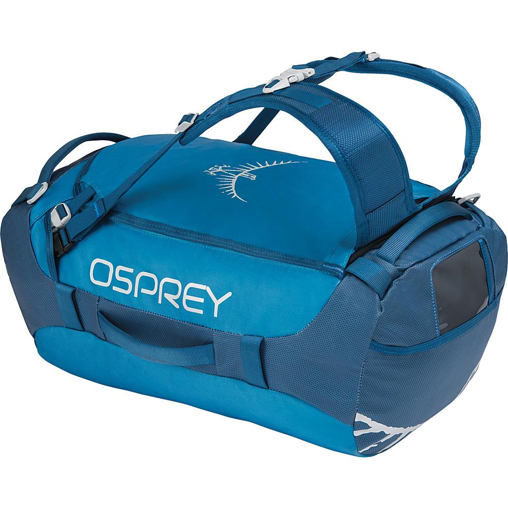 Osprey Transporter 40L Duffel Kingfisher Blue - Osprey Travel Duffels - Duffels, Travel Duffels