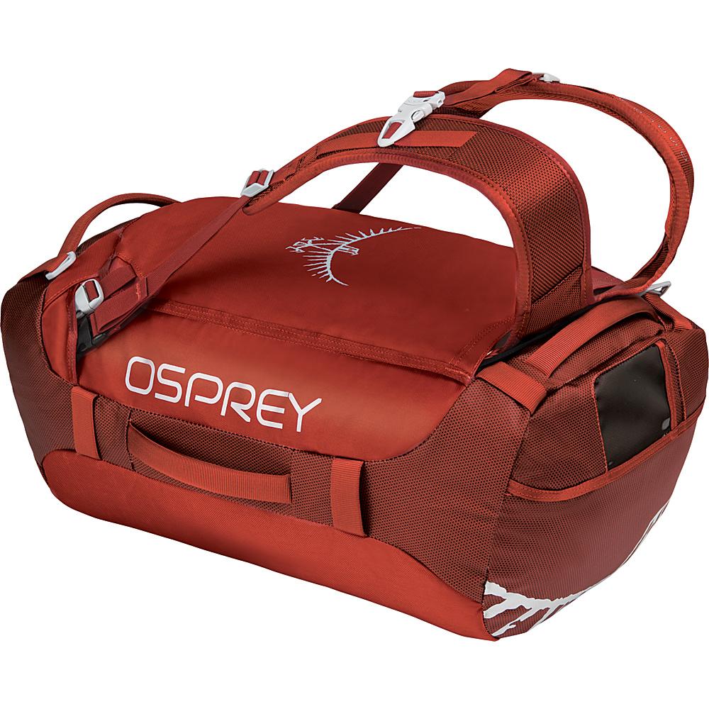 Osprey Transporter 40L Duffel Ruffian Red - Osprey Travel Duffels - Duffels, Travel Duffels