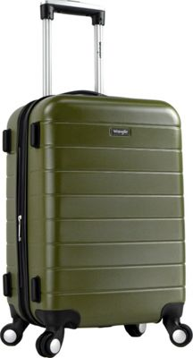 Wrangler 3-N-1 20 inch Expandable Hardside Carry-On Spinner Luggage Olive - Wrangler Hardside Carry-On