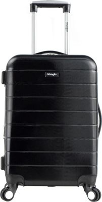 Wrangler 3-N-1 20 inch Expandable Hardside Carry-On Spinner Luggage Black - Wrangler Hardside Carry-On