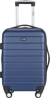 Wrangler 3-N-1 20 inch Expandable Hardside Carry-On Spinner Luggage Navy - Wrangler Hardside Carry-On
