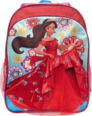 Disney Elena Backpack with 3D Dress Purple - Disney Kids' Backpacks