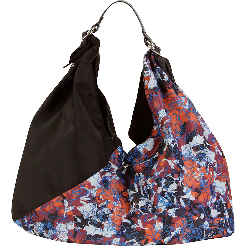 Hadaki Large Origami Tote Watercolors/Black - Hadaki Gym Bags - Sports, Gym Bags