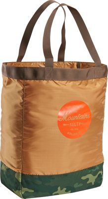Kelty Totes Tote Canyon Brown/Green Camo - Kelty Packable...