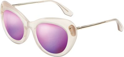 IVI Faye Sunglasses Polished Nude - Polished Champagne - ...